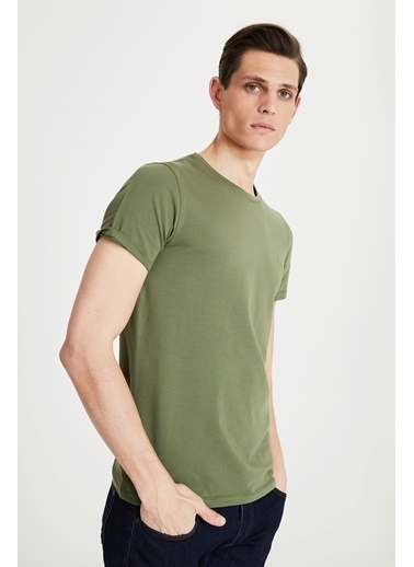 Tween Baskılı T-Shirt Haki